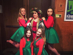 Elves and The Ghost of Christmas Present