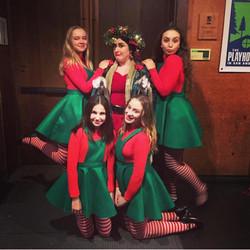 Christmas present and posse