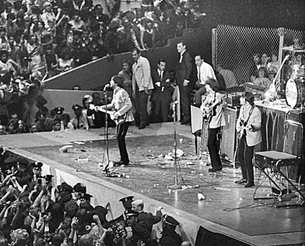 The Beatles at the Cow Palace 1964