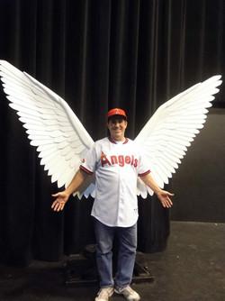 Patrick as an angel