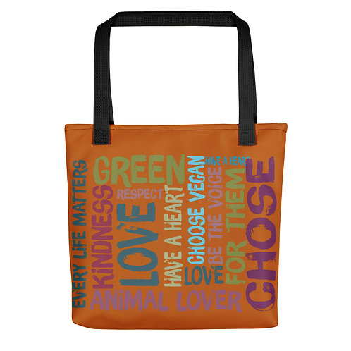Every Life Matters / Tote Bag / Brown