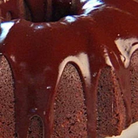 Chocolate Pound Cake with Chocolate Icing -Karen Screws