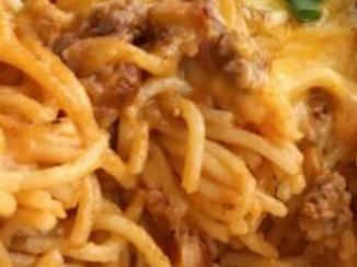Taco Spaghetti - Janie Pickle