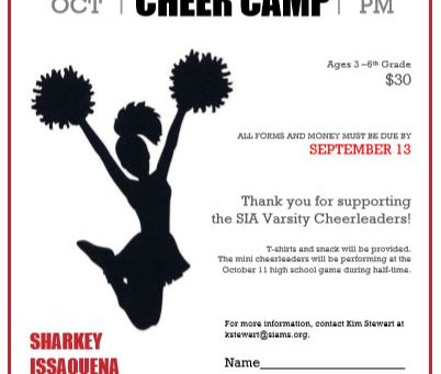 Mini Cheer Camp