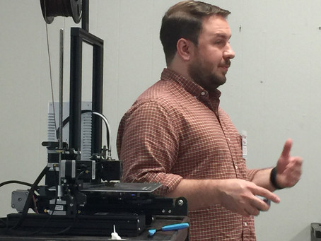 Former SIA Student Speaks to Career Ed Classes About Mechanical Engineering