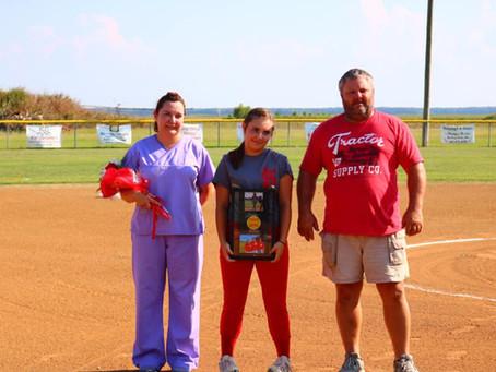 Softball Team Honors Seniors