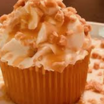 Caramel Toffee Crunch Cupcakes (1dz)- Shelly's Treats