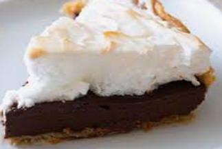 Chocolate Meringue Pie - Sheree Steed