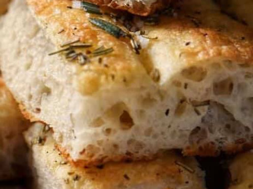 Herb & Parmesan Focaccia Bread - Angie Coghlan