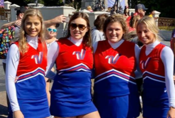 SIA Cheerleaders Perform in Thanksgiving Parade at Disney World