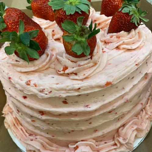 Strawberry Cake - Mandy Gee