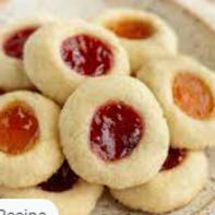 Thumbprint Cookies - Misty Bonds