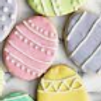 4 Large Decorated Easter Cookies -Shelly Carr