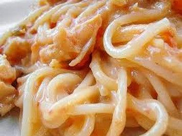 Rotel Chicken Spaghetti - Grace Anna Hatcher