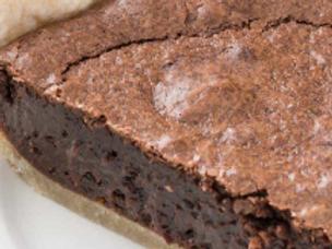 Chocolate Fudge Brownie Pie - Cissy Smith