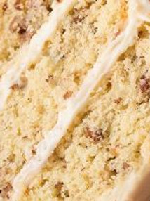 Butter Pecan Cake, Caramel Icing - Laurie Patterson