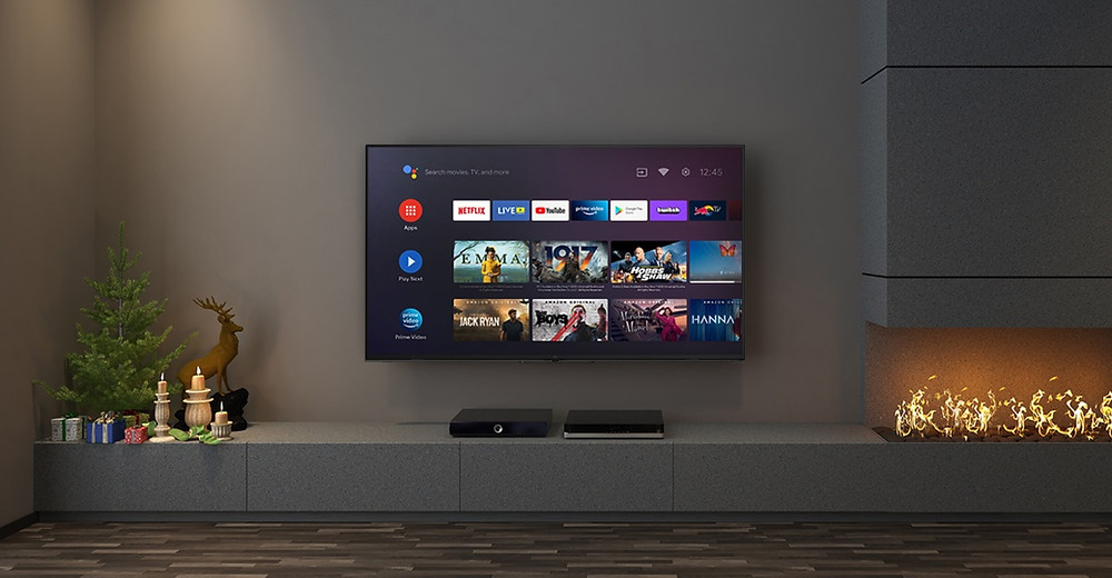 """EKO 65"""" 4K Ultra HD Android TV with Google Assistant"""
