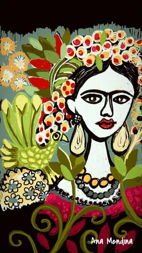 Frida por Mendina