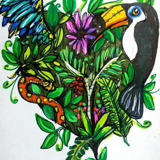 tropical sketch
