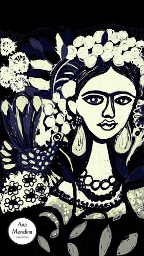 Frida por Ana Mendina