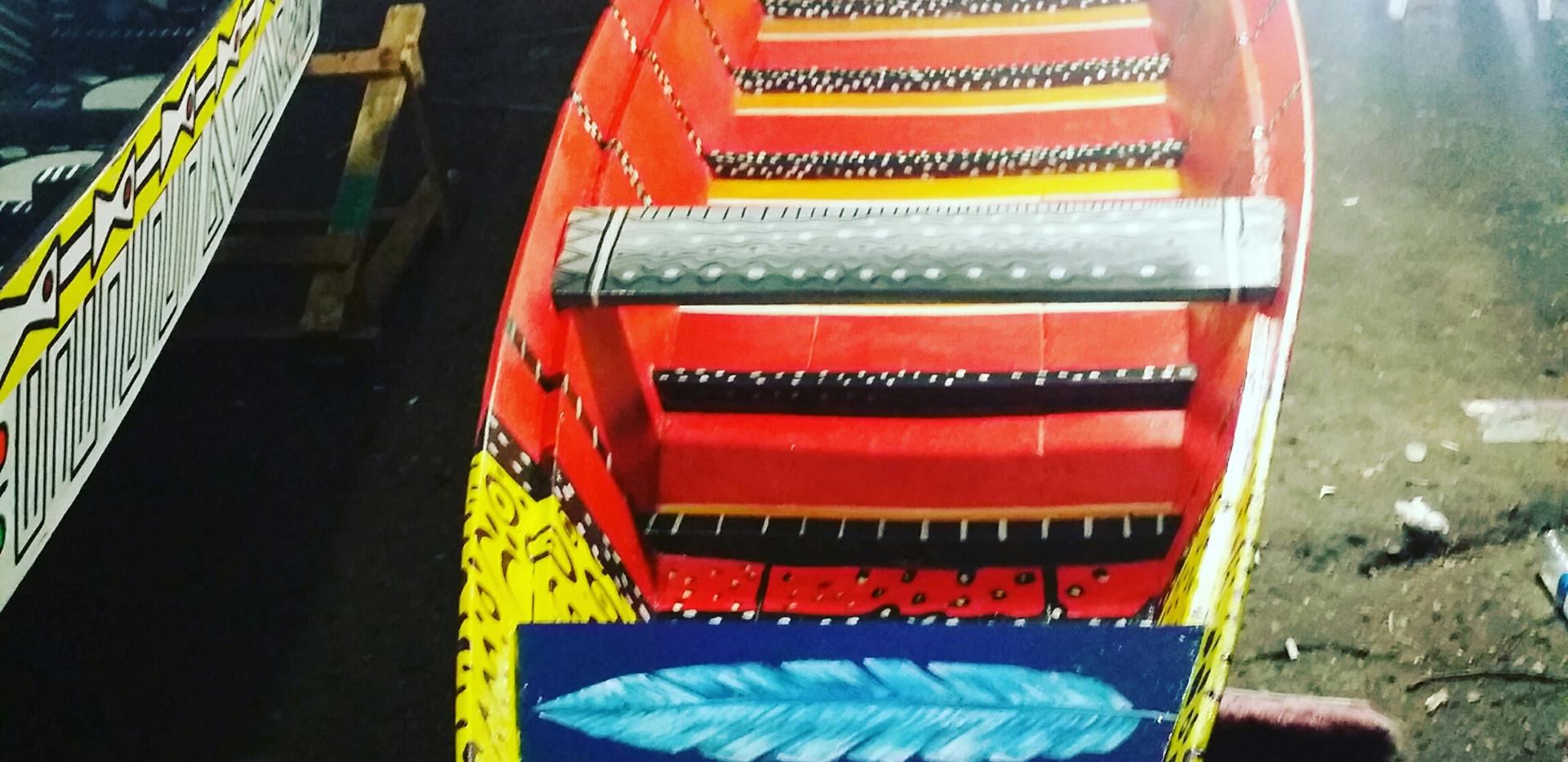 Canoa Pajé por Ana Mendina