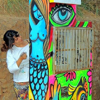 Grafiti Belo Horizonte NovaZoo Skate
