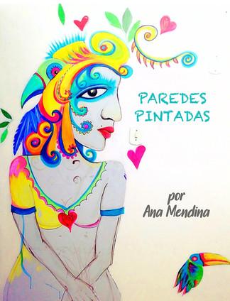 paredes pintadas por Ana Mendina