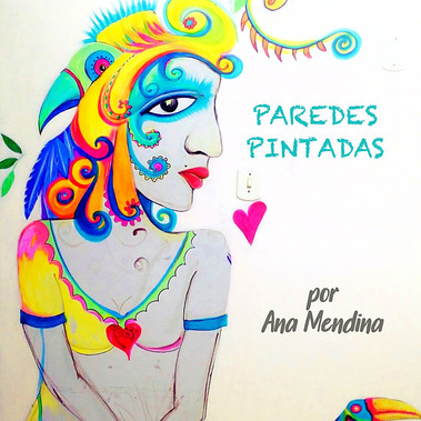 paredes pintadas / Ana Mendina