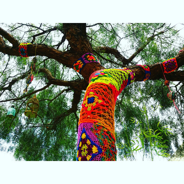 arvore de tricot Ana Mendina Brasilia-DF