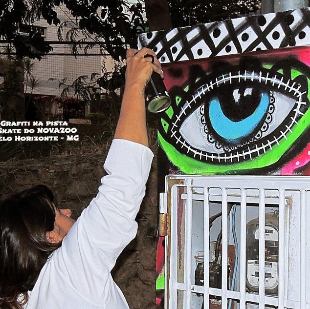 Grafiti Novazoo Skate Belo Horizonte