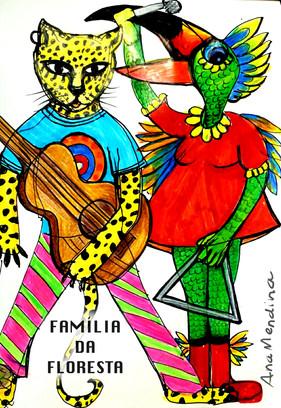 FAMILIA DA FLORESTA