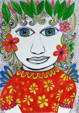 Menina Flor
