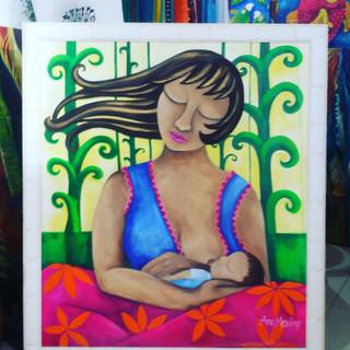 Maternidade por Ana Mendina