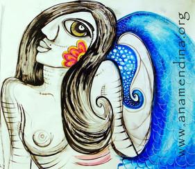 sereia azul