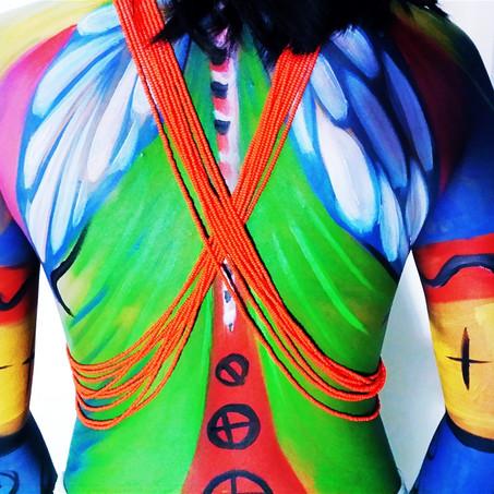 bodypaint by Ana Mendina