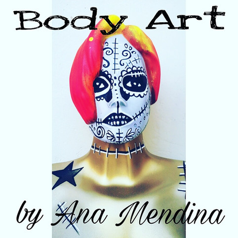 body art by Ana Mendina