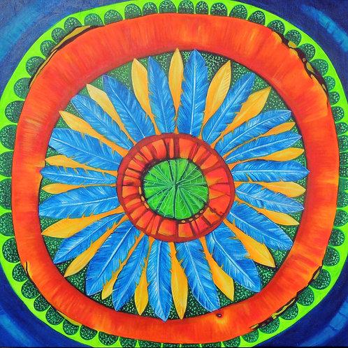 Mandala Vitória Régia