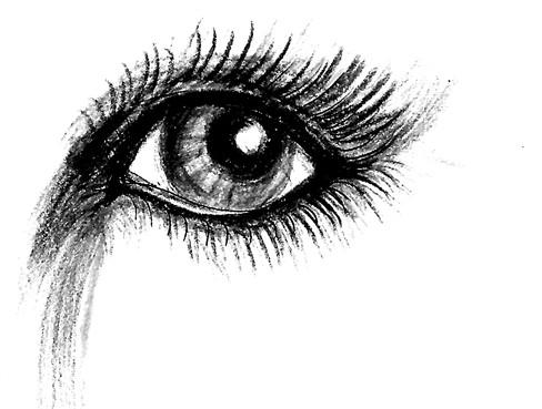 black eyes by Mendina