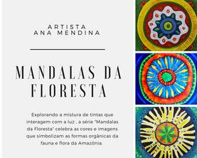 Mandalas da floresta by Ana Mendina