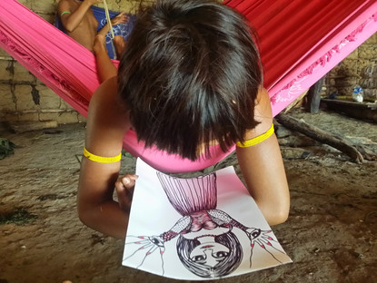 criança Yanomami