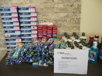 Donations for Newmarket food pantry