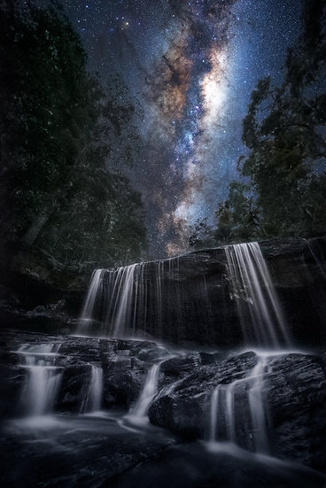 Somersby Falls Milky Way
