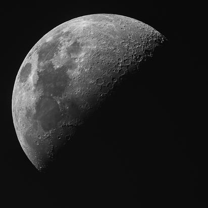 47% Waxing Crescent Moon