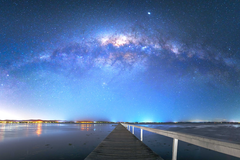 Long Jetty Milky Way