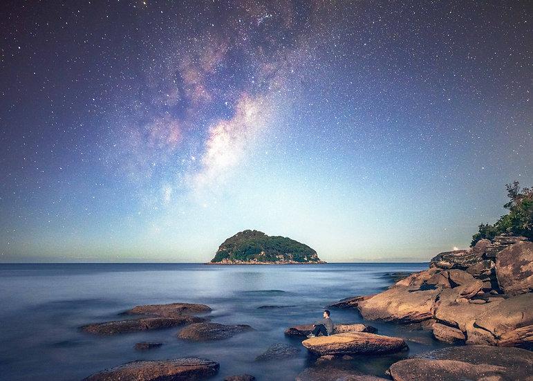 Lion Island Milky Way