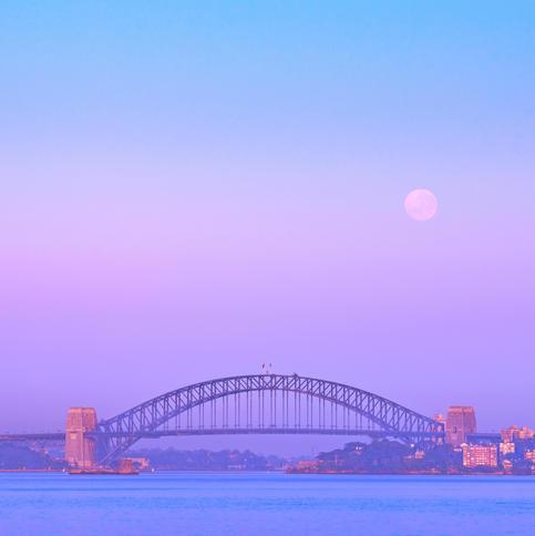 Sydney Full Moon