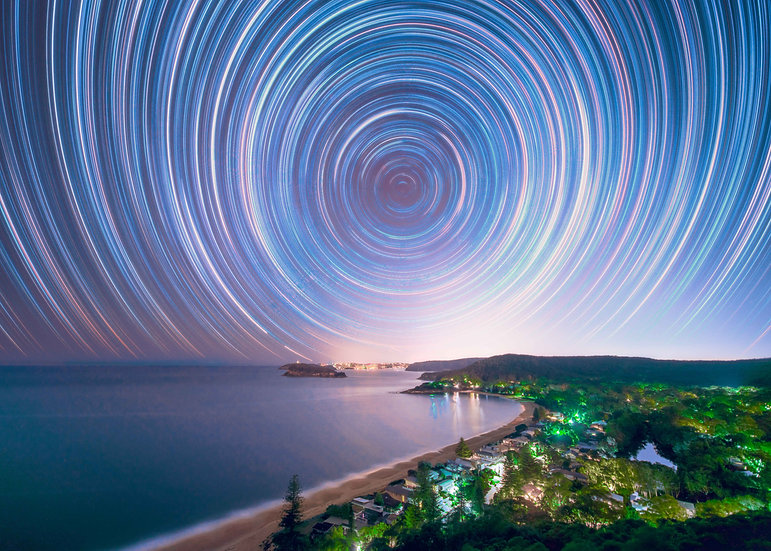Ettalong Star Trails