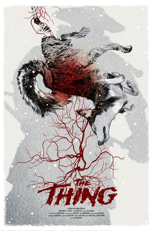 THE THING  AP primary silkscreen poster