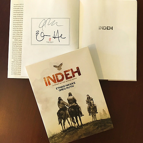 INDEH 1st ed. HC signed bookplate edition