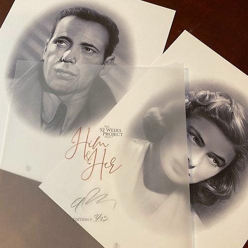 HIM &HER Ltd Edition print set #4: CASABLANCA
